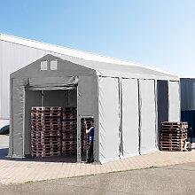 TOOLPORT Lagerzelt 5x10m - 4,0 m Seitenhöhe mit