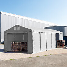 TOOLPORT Lagerzelt 6x12m - 3,0 m Seitenhöhe mit