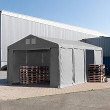 TOOLPORT Lagerzelt 6x8m - 3,0 m Seitenhöhe mit