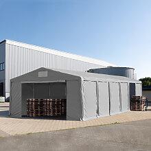 TOOLPORT Lagerzelt 8x12m - 3,0 m Seitenhöhe mit