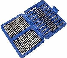 Tools Heimwerker,TwoCC Long Bit 50Tlg. Extra Set