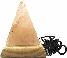 TOOSD LED Pyramide Salz Lampe USB Himalaya Salz