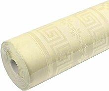 Top-Fête Damastartige Tischdecke aus Papier, 1,2