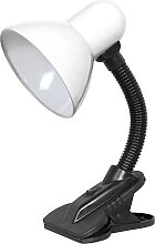 Top Light - Lampe mit Clip 1xE27/60W/230V weiß