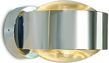 Top Light Puk Maxx Wall LED Wandleuchte chrom Glas