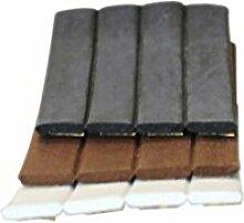TOP MULTI Fenster- und Türdichtung I-Profil, 9 x 2 mm, schwarz, 20 m, 1 Stück, 22316w1836-0023