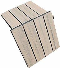 Top-Multi WPC Holz Fliese profiliert 30x30cm BRAUN
