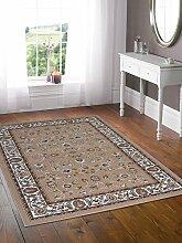 Top Preis Guenstig Teppich - Klassisch Teppich orientalischen ROYAL SHIRAZ 2079-BEIGE 160x230