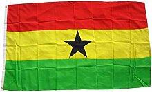 Top Qualität - Flagge GHANA Afrika Fahne, 90 x