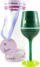 TOP SHELF ts-3798A Tennis Weinglas, glas, 15