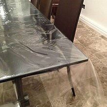 Top Tablecloths Transparente PVC Tischdecke, PVC,