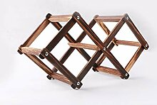 Toparchery Weinregal klein 31 x 12,3 x 16 cm Holz