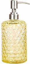 TOPBATHY Glas-Seifenspender, Pumpflaschen für