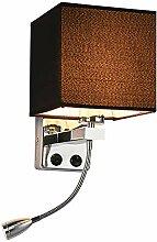 TopDeng Aus stoff Wandlicht Mit Schalter, E27
