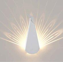 TopDeng Dekoration LED Warmweiß Wandleuchte