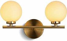 TopDeng Kugelförmige LED Wandleuchte waschen, G4