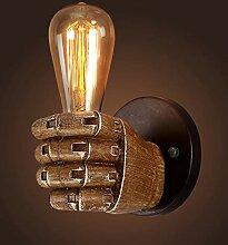 TopDeng Vintage Industriell Wandlampe, Retro