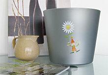 Topf-Dekoration - Topfdesign Kleiner Kobold Blume