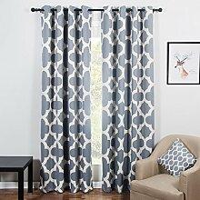 Topfinel Blackout Vorhang mit Ösen Wärmeisoliert