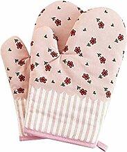 Topflappen Beständig Hitze Mikrowellenherd Glove