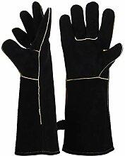 Topflappen Leder Grill Handschuhe Extreme Hitze