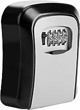 TOPINCN Schlüsselsafe mit Wandhalterung,