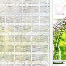 TopJiä Sichtschutz Dekoration Fensterfolie,