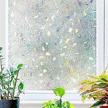 TopJiä Sichtschutz Milchglas Fensterfolie, Ohne
