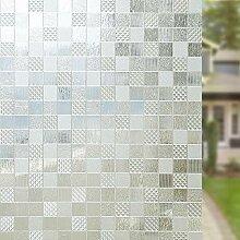 TopJiä Sichtschutz Milchglas Fensterfolie,