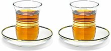 Topkapi - 12-TLG Türkisches Tee-Set ESMA-Sultan