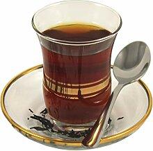 Topkapi - 18-TLG Türkisches Tee-Set Leyla-Sultan