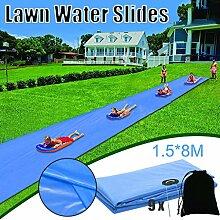 TOPM Wasserrutsche Kinder Garten Dauerhafter Rasen