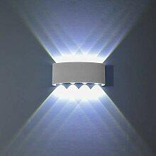Topmo-plus 8W LED Wandlampe Wasserdichte IP65