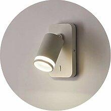 Topmo-plus wandlampe mit schalter/wandstrahler