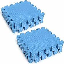 TOPmountain 2 * 9PCS Kinder Puzzle Übung Spielmatte Mit hochwertigen EVA Foam Interlocking Tiles