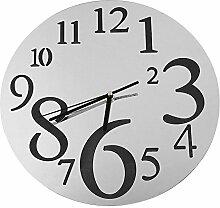 TOPmountain Große Digitale Morden Wanduhr Vintage Antike Uhr Große Morden Indoor Outdoor Home Küche/Wohnzimmer/Schlafzimmer Wanduhren