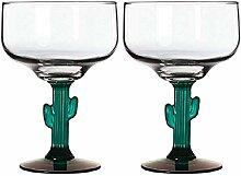 TopNotch Outlet Margarita-Glas – Kaktus