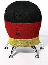 Topstar HOCKER Sitness 5 Deutschland, Limited Edition, Sitzkugel, Drehstuhl Alternative - Sitzkugel