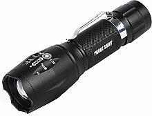 TopTen Fan-Motive 2000 Lumen Tactical