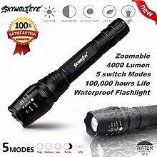 TopTen Fan-Motive Tactical Taschenlampe,