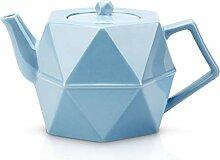 Toptier Teekanne aus Keramik, Porzellan-Teekanne