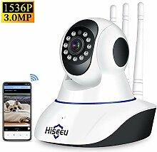 Topuality Ultra HD 3MP Wireless IP-Kamera Indoor