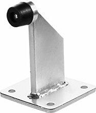 Torstopper, Türstopper Höhe 95 mm, Ankerplatte 100 x 80 Stahl verzinkt !