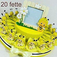 Torte Gastgeschenk Biene Marienkäfer Magnet