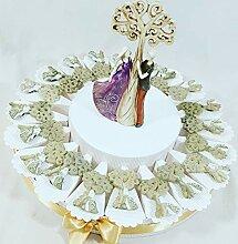 Torte Gastgeschenk für Hochzeit mit
