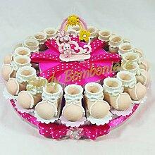 Torte Gastgeschenk für Mädchen Geburt,