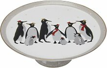 Tortenständer Christmas Penguin Portmeirion