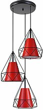 Tosel 21118Kronleuchter, Stahl/Lampenschirm