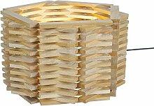 Tosel 64330niiagata Lampe Holz Buche massiv