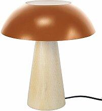 Tosel 64468 Star Trek Lampe Holz Buche Massiv Blech Stahl Malerei Epoxid